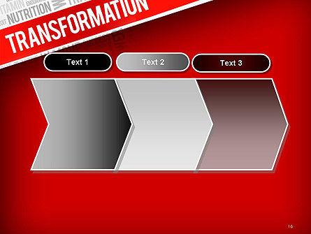 Transformation Word Cloud PowerPoint Template Slide 16