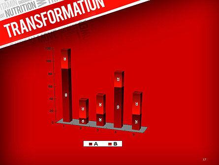 Transformation Word Cloud PowerPoint Template Slide 17