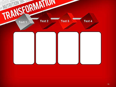 Transformation Word Cloud PowerPoint Template Slide 18
