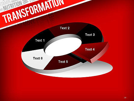 Transformation Word Cloud PowerPoint Template Slide 19