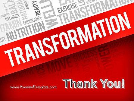 Transformation Word Cloud PowerPoint Template Slide 20