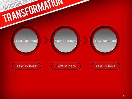 Transformation Word Cloud PowerPoint Template Slide 5