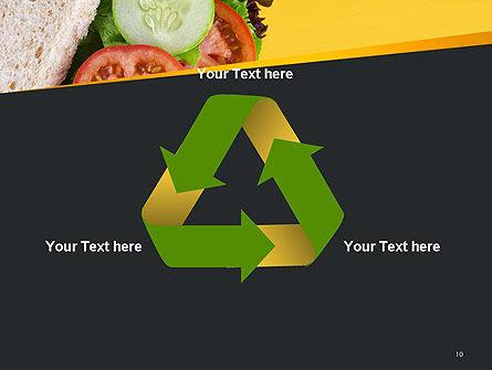 Healthy Snack PowerPoint Template Slide 10