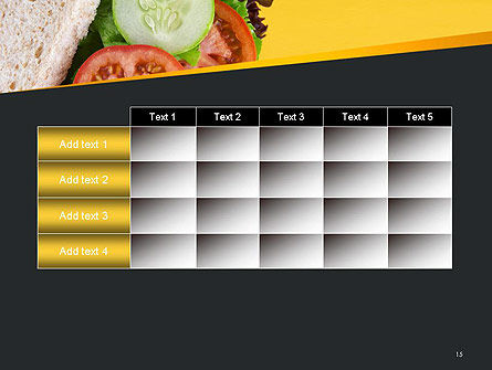 Healthy Snack PowerPoint Template Slide 15