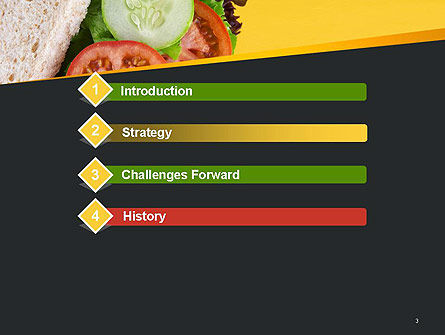 Healthy Snack PowerPoint Template, Slide 3, 14185, Food & Beverage — PoweredTemplate.com