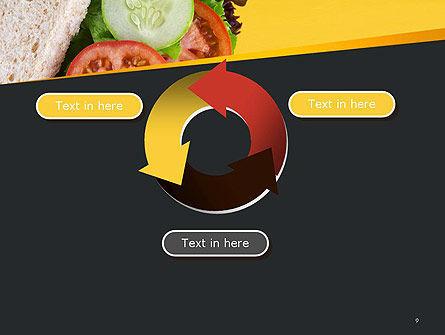 Healthy Snack PowerPoint Template Slide 9