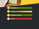 Healthy Snack PowerPoint Template#3