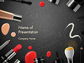 Careers/Industry: Makeup Mockup PowerPoint Template #14188