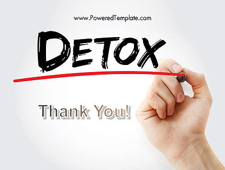 Hand Writing Detox with Marker PowerPoint template Slide 20