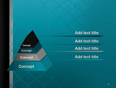 Wire Fence Abstract PowerPoint Template Slide 10