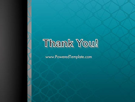 Wire Fence Abstract PowerPoint Template Slide 20