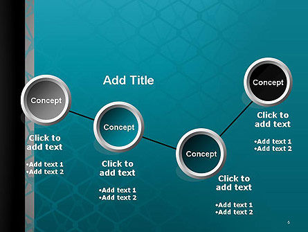 Wire Fence Abstract PowerPoint Template Slide 6