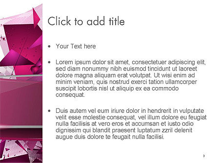 Abstract Modern Polygonal Background PowerPoint Template, Slide 3, 14202, Abstract/Textures — PoweredTemplate.com