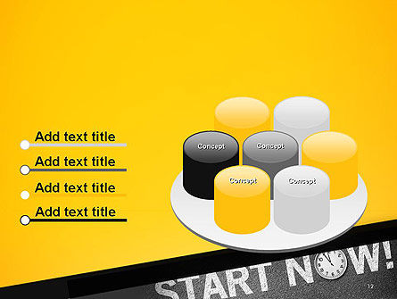 Start Now PowerPoint Template Slide 12
