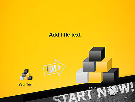 Start Now PowerPoint Template Slide 13