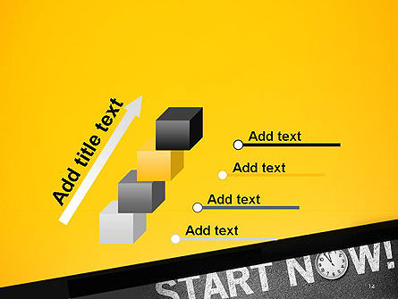 Start Now PowerPoint Template Slide 14