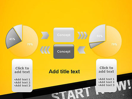Start Now PowerPoint Template Slide 16