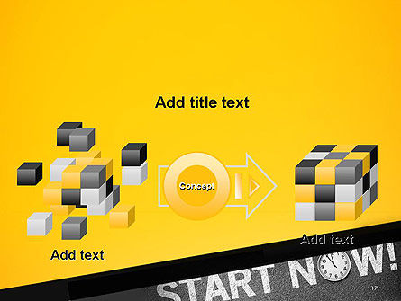 Start Now PowerPoint Template Slide 17