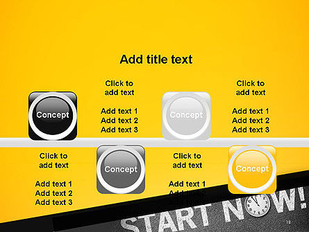 Start Now PowerPoint Template Slide 18