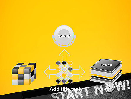 Start Now PowerPoint Template Slide 19