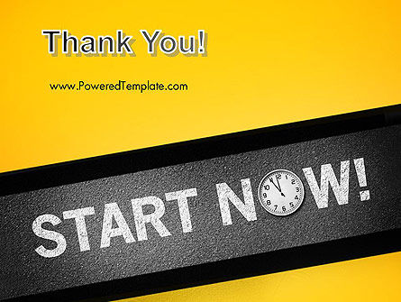 Start Now PowerPoint Template Slide 20