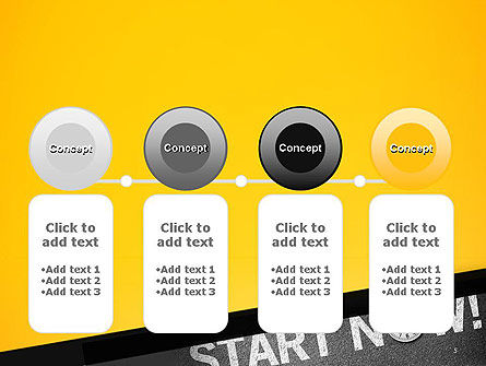 Start Now PowerPoint Template Slide 5