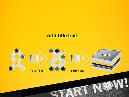 Start Now PowerPoint Template Slide 9
