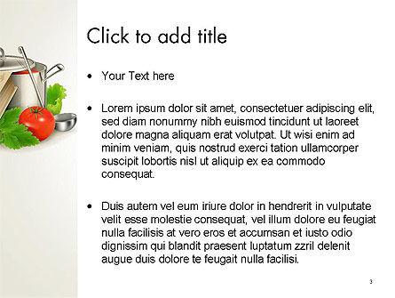 Cookbook PowerPoint Template, Slide 3, 14209, Careers/Industry — PoweredTemplate.com