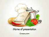 Careers/Industry: Cookbook PowerPoint Template #14209