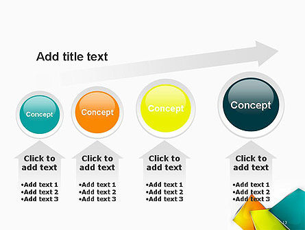 Abstract Bright Layers PowerPoint Template Slide 13