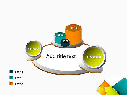 Abstract Bright Layers PowerPoint Template Slide 16