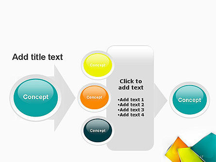 Abstract Bright Layers PowerPoint Template Slide 17