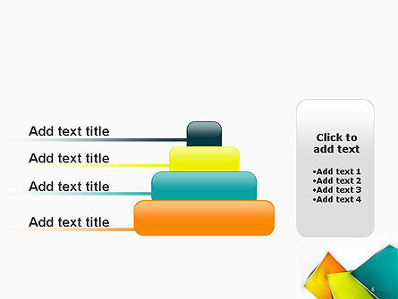 Abstract Bright Layers PowerPoint Template Slide 8