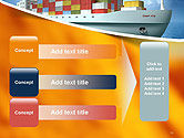 Sea Freight PowerPoint Template#12