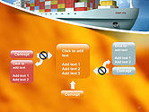 Sea Freight PowerPoint Template#13