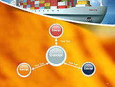 Sea Freight PowerPoint Template#14