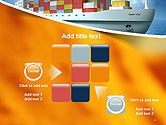 Sea Freight PowerPoint Template#16