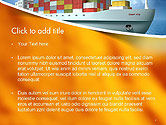 Sea Freight PowerPoint Template#2