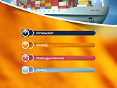 Sea Freight PowerPoint Template#3