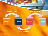 Sea Freight PowerPoint Template#4