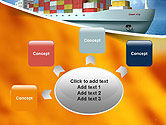 Sea Freight PowerPoint Template#7