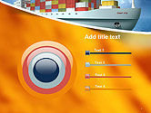Sea Freight PowerPoint Template#9