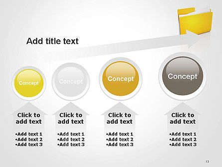 Document Folder PowerPoint Template Slide 13