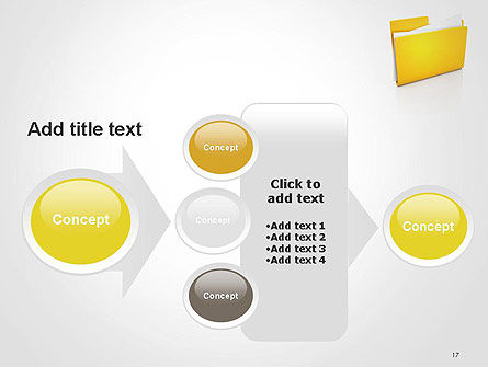 Document Folder PowerPoint Template Slide 17