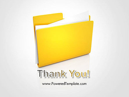Document Folder PowerPoint Template Slide 20