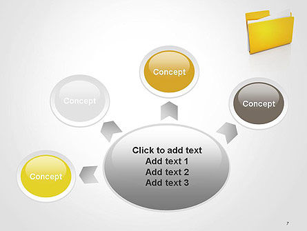 Document Folder PowerPoint Template Slide 7