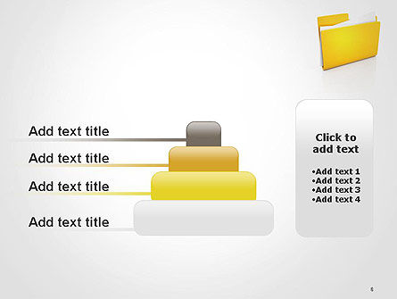 Document Folder PowerPoint Template Slide 8