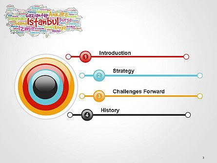 Turkish Cities Word Cloud PowerPoint Template, Slide 3, 14228, Flags/International — PoweredTemplate.com