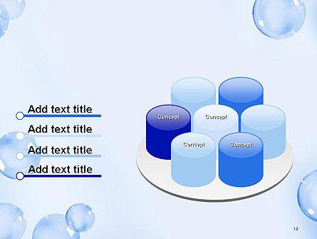 Water Bubbles PowerPoint Template Slide 12