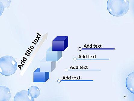 Water Bubbles PowerPoint Template Slide 14